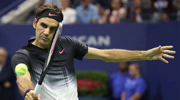 Roger Federer is a famous tennis player and he is one among the top sports personalities