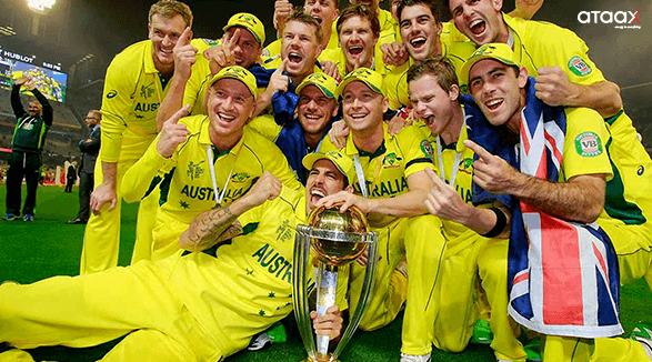 Australia tram with ICC Cricket World Cup