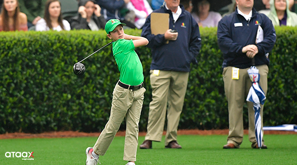 Drive, Chip, and Putt - a event happens before the Masters